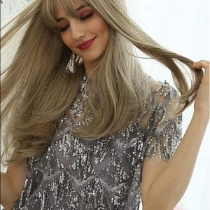 Other - Long Straight Wig with Bangs